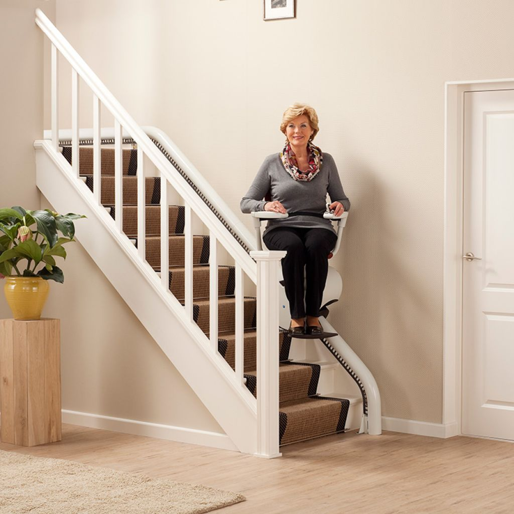 Flow - Curved Stairlift